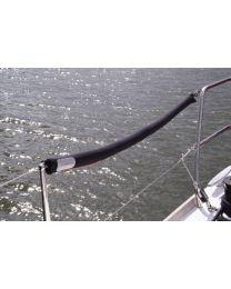 Boot railing kussen Pro paar zwart Grootte Lengte 90cm